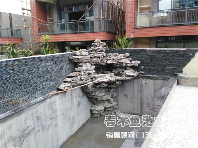 广州从化别墅鱼池设计案例