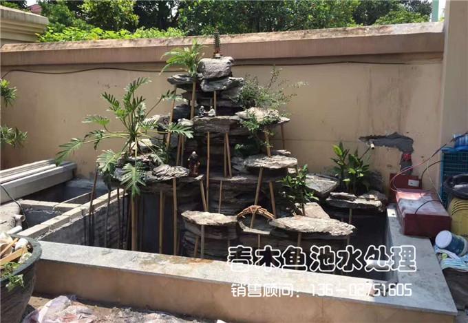 家庭院子假山鱼池设计案例