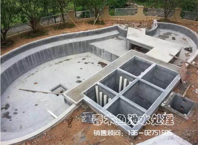 庭院鱼池过滤系统设计图